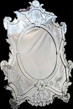 Miroir v nitien for Miroir venitien